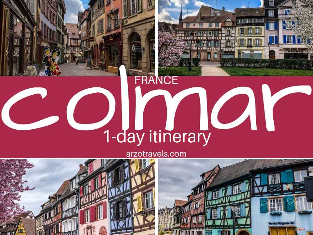 Where to go and what to do and see in Colmar in one day. France