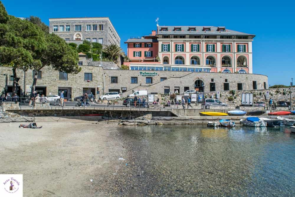 Beach in Porto Venere