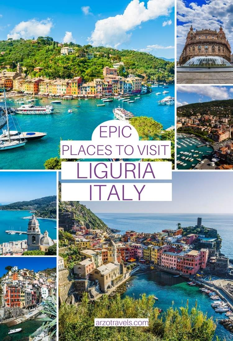 Best places to visit in Liguria, Italy,, Arzo Travels