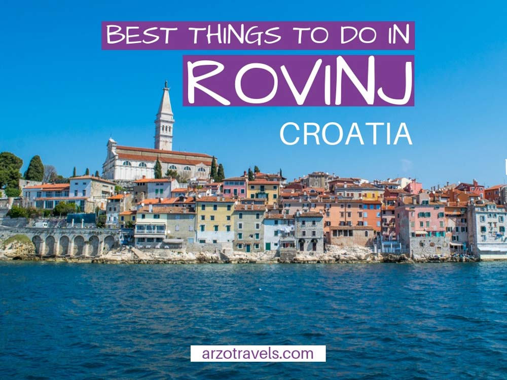 Best things to do in Rovinj in one day - Rovinj itinerary