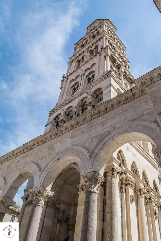 Cathedral and Bell Tower of Saint Domnius in Split is a must-see