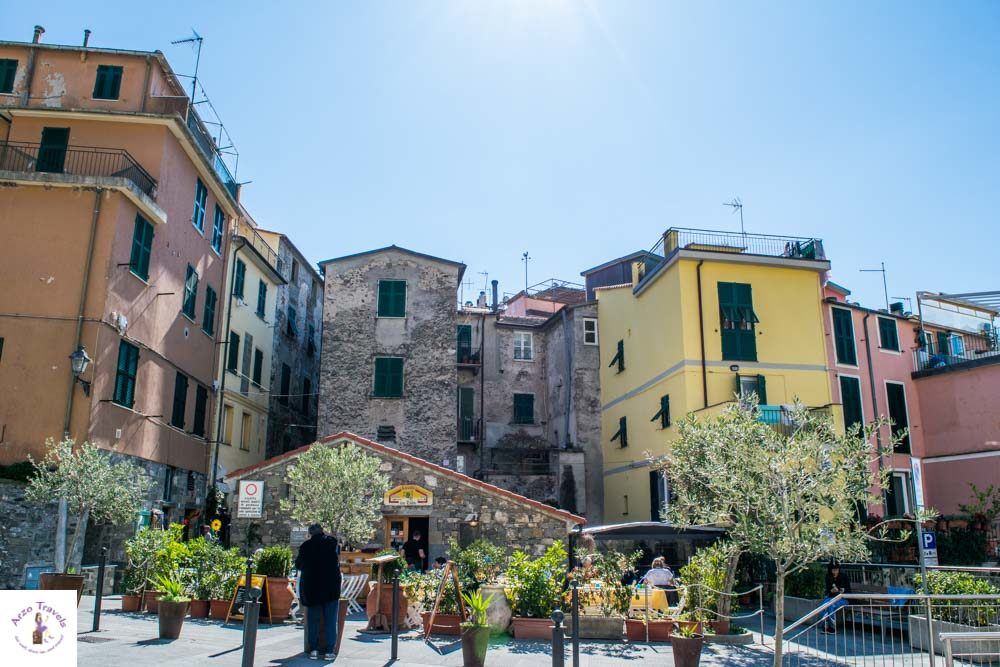 Cinque Terre most beautiful places to visit in Corniglia