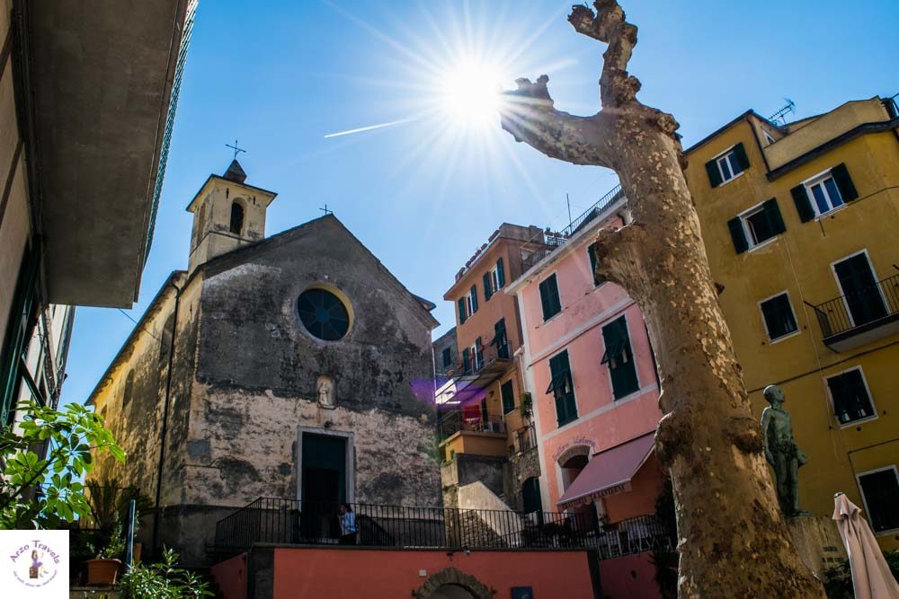 Cinque Terre what is the most beautiful places to visit in Corniglia