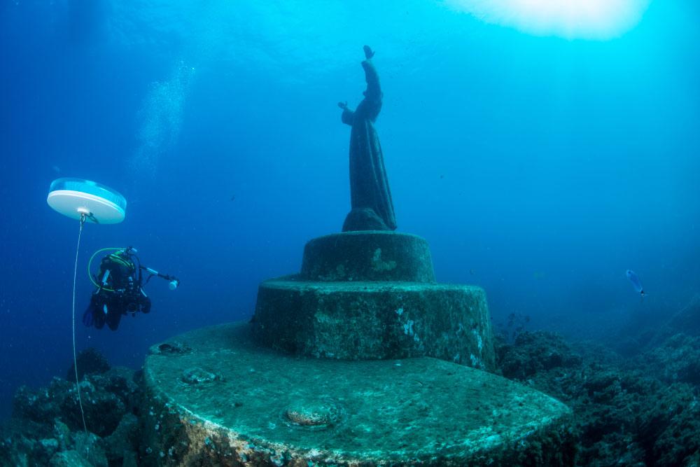 Cristo degli abissi, Abyss Christ in San Fruttuoso, Portofino one of the best things to do