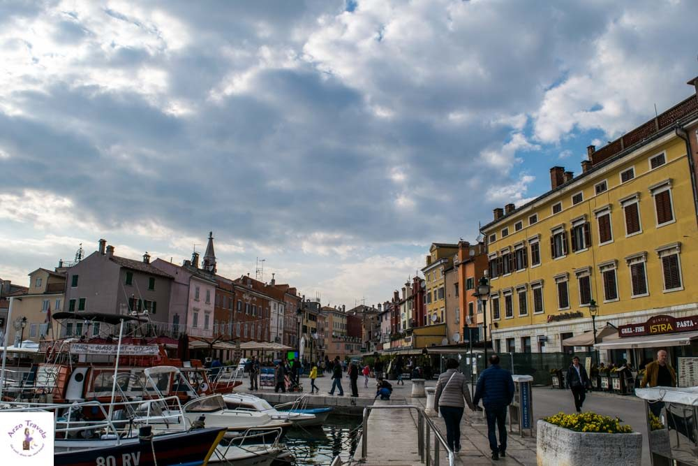 Croatia, Rovinj market square one of the best places to visit in Rovinj