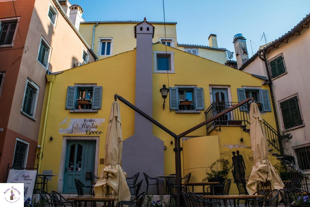 Croatia, Rovinj old town, what to see in Rovinj