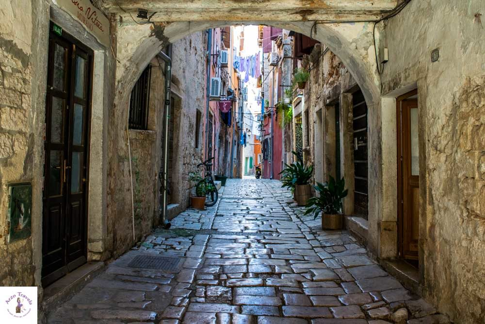 Croatia, Rovinj streets that are the best Instagram spots