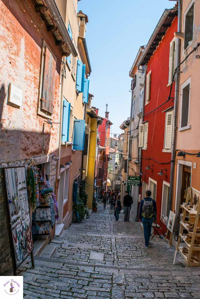 Croatia, Rovinj the best streets_
