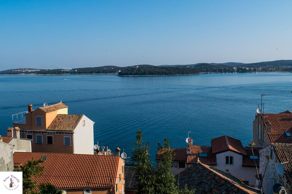 Croatia, Rovinj view from Cathedral Sqaure in Rovinj