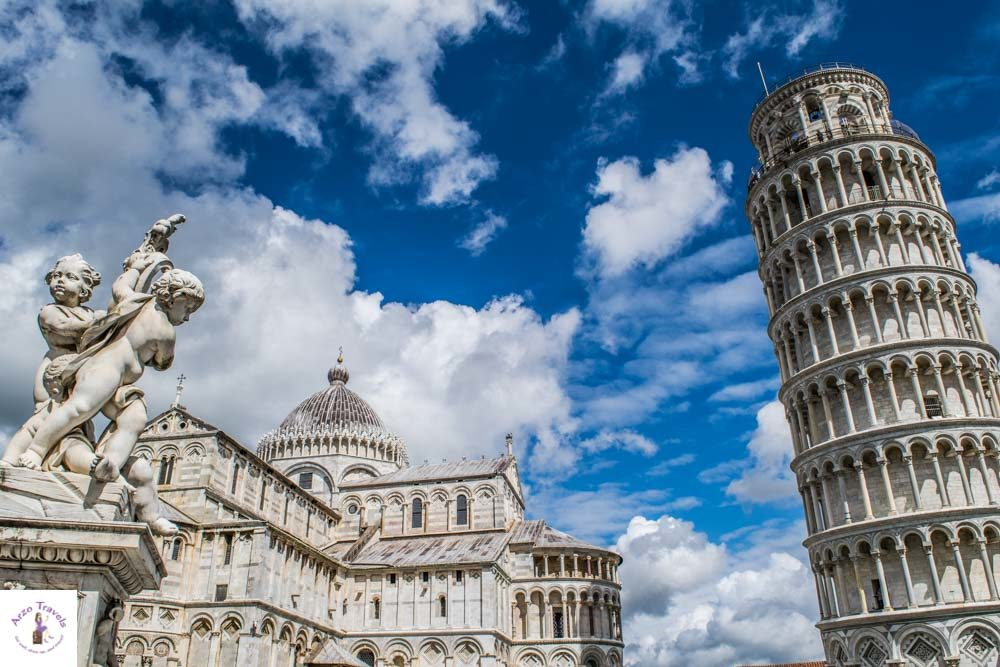 Day trip to Pisa, The leaning tower of Pisa