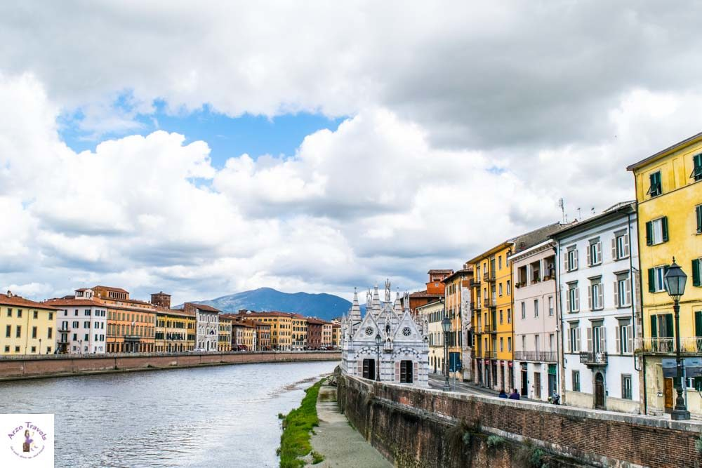Day trip to Pisa, stroll the river