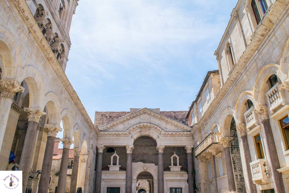 Diocletian's Palace in Split, apparently a Games of Thrones venue