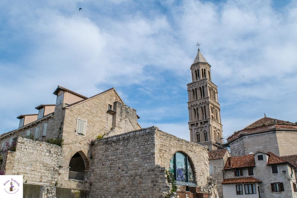 Diocletian's Palace in Split is one of the top attractions