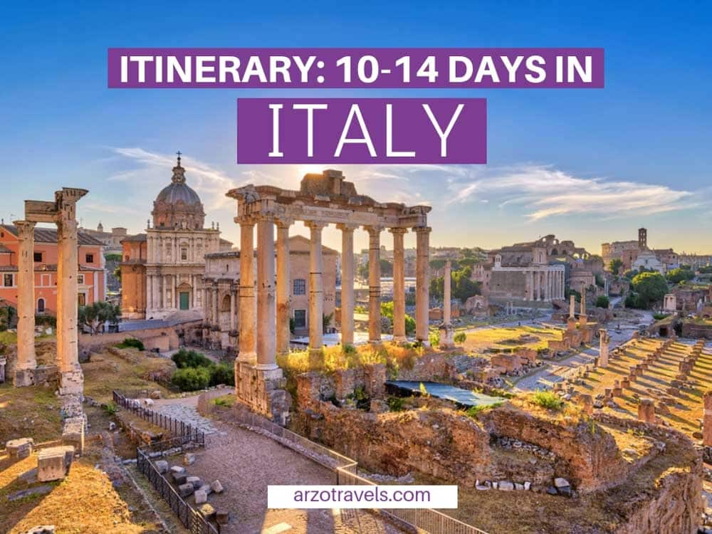 How to Have an Epic 2-Week Italy Itinerary