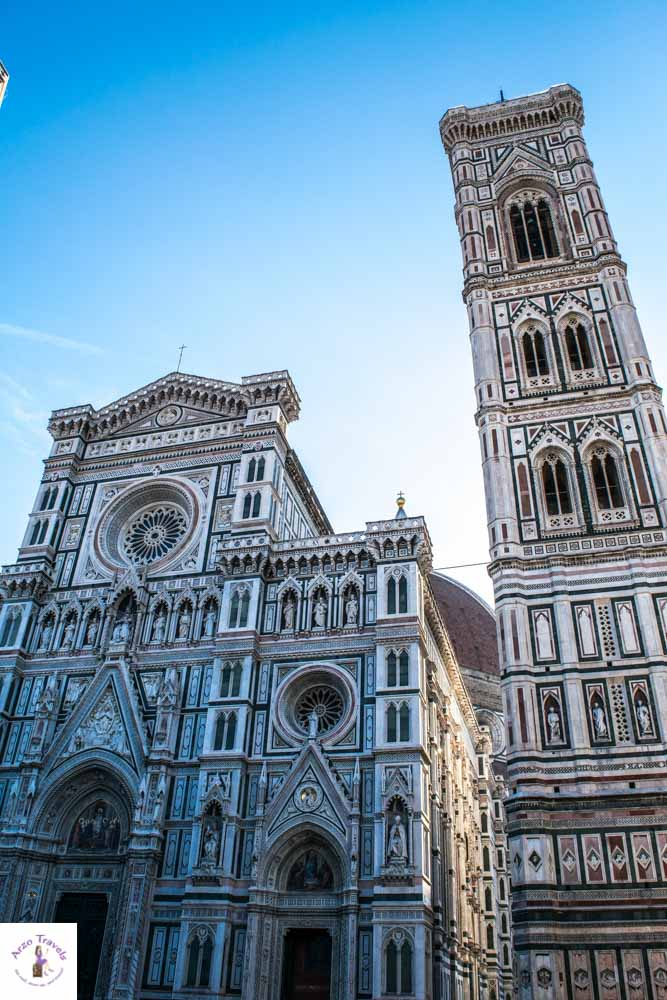 Florence Campanile with church