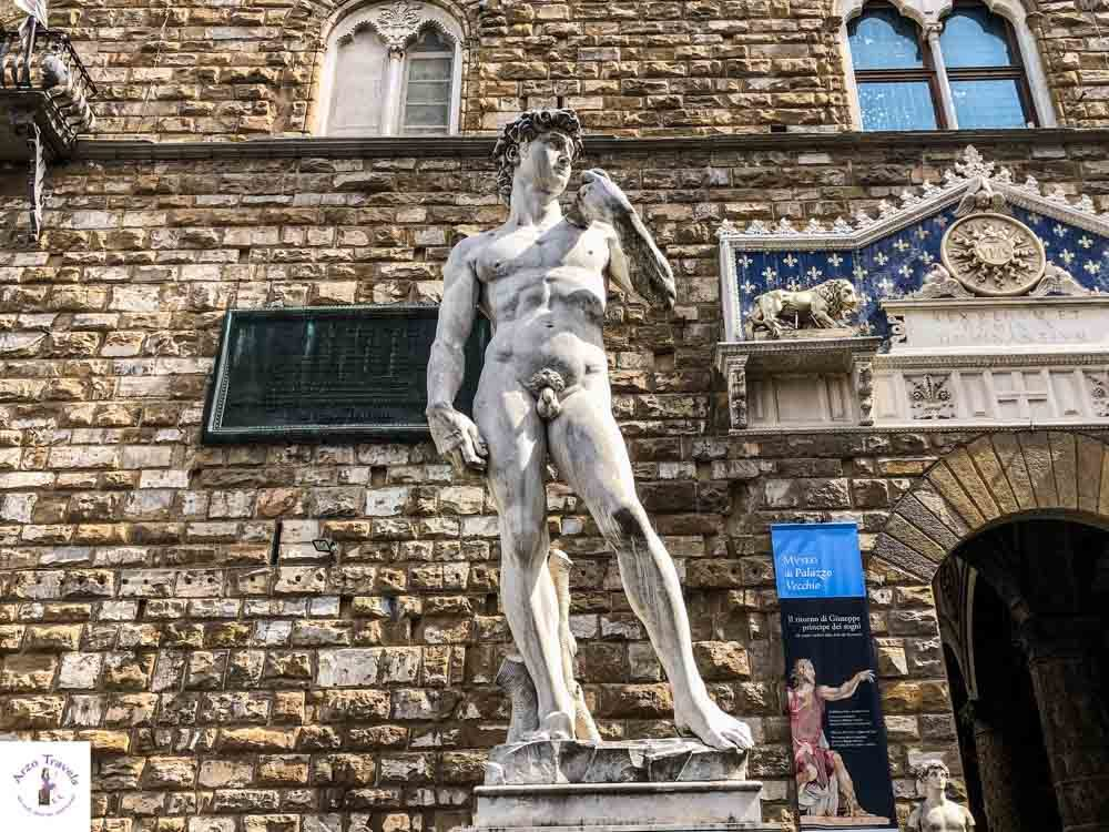 Florence Michelangelo David Statue