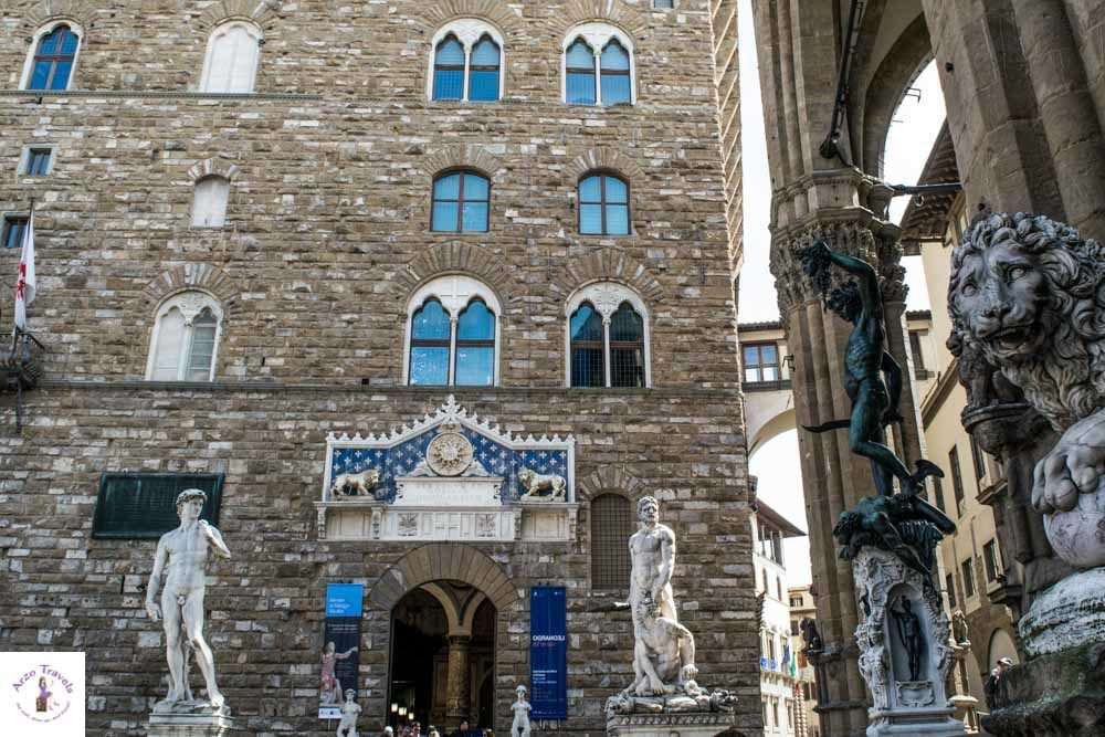 Florence Piazza della Signoria in one of the best places to go