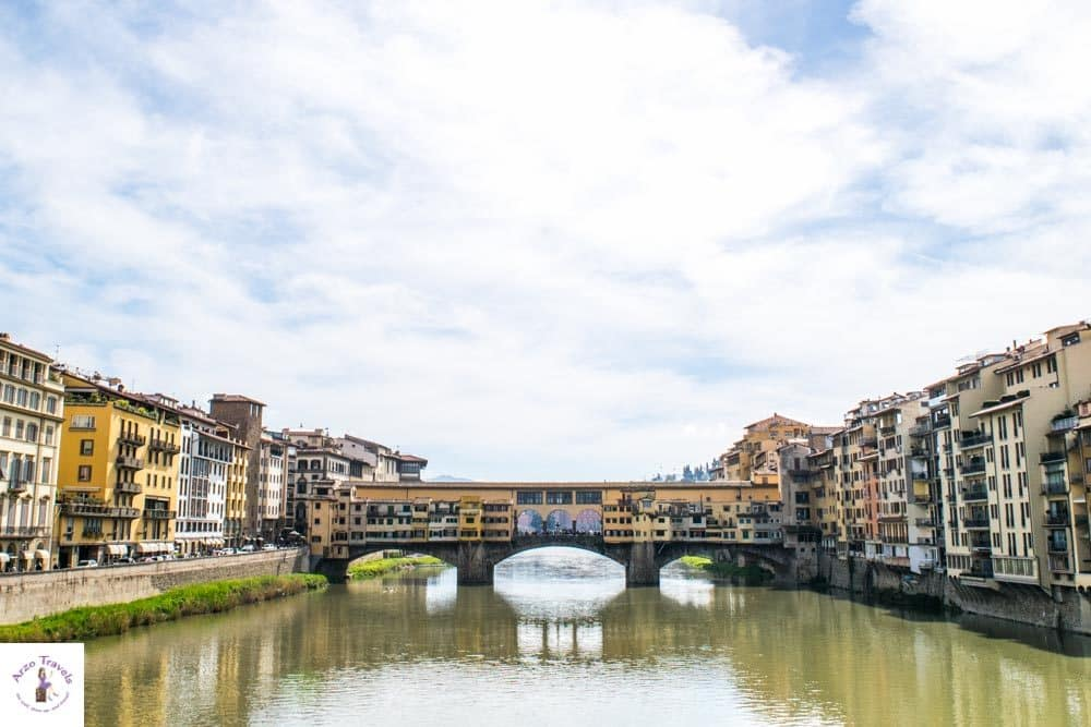 Florence Ponte Vecchio which is one main tourist attraction to visit in 2 days in Florence