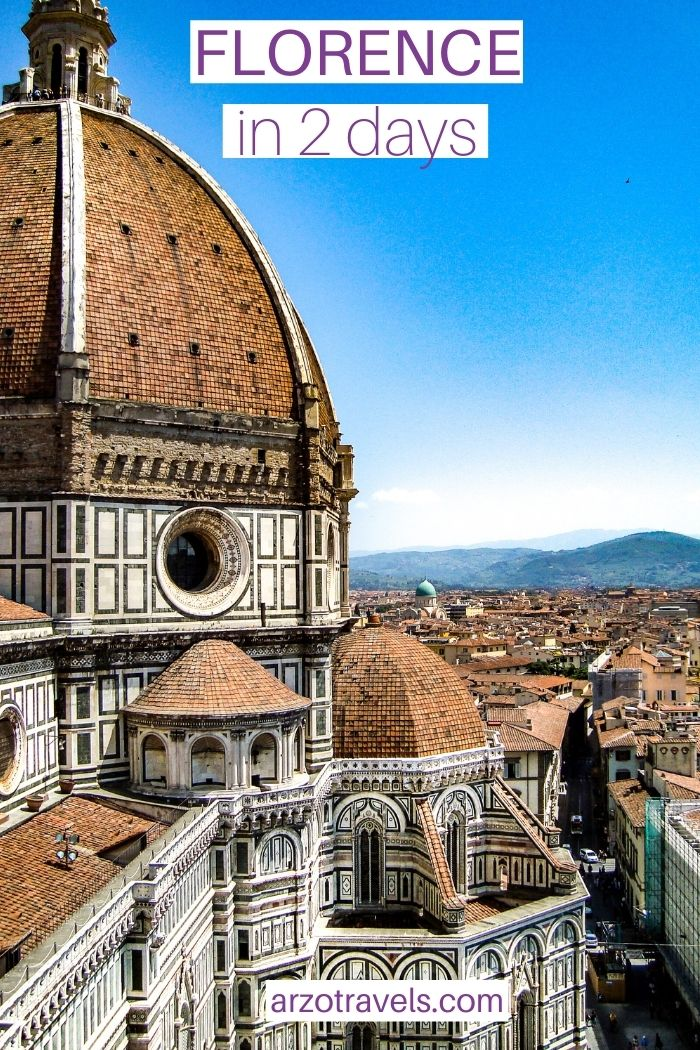 Florence in 2 days, ARZO TRAVELS