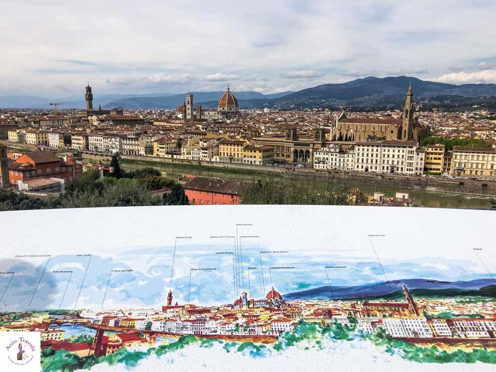 Florence skyline from Piazzele Michelangelo