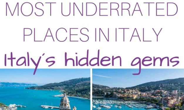 Most Beautiful Hidden Gem Travel Destinations in Italy