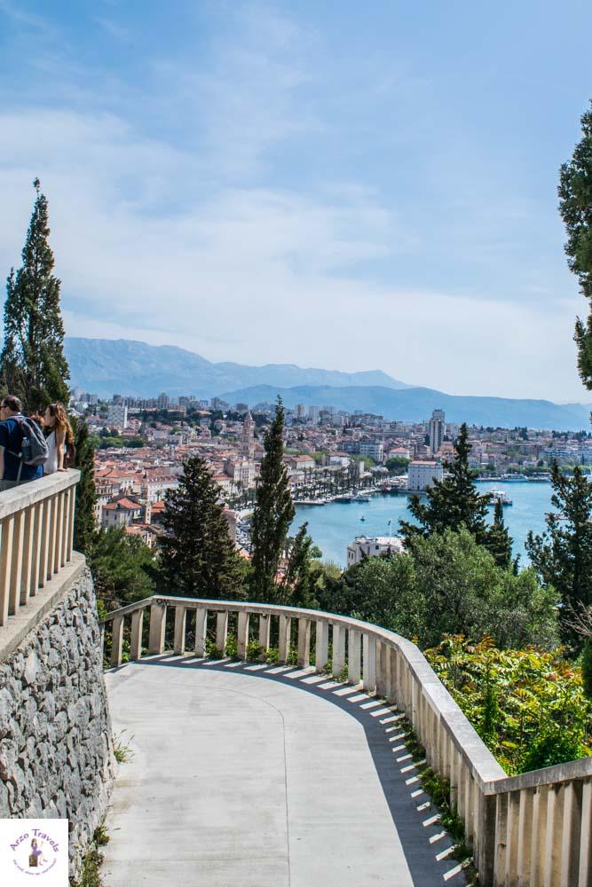 Marjan Hill in Split is one of the main attractions in Split