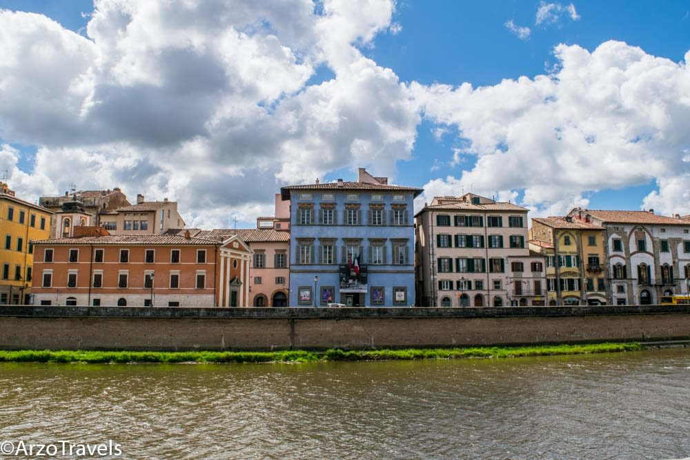 Palazzo Blu at the Arno River