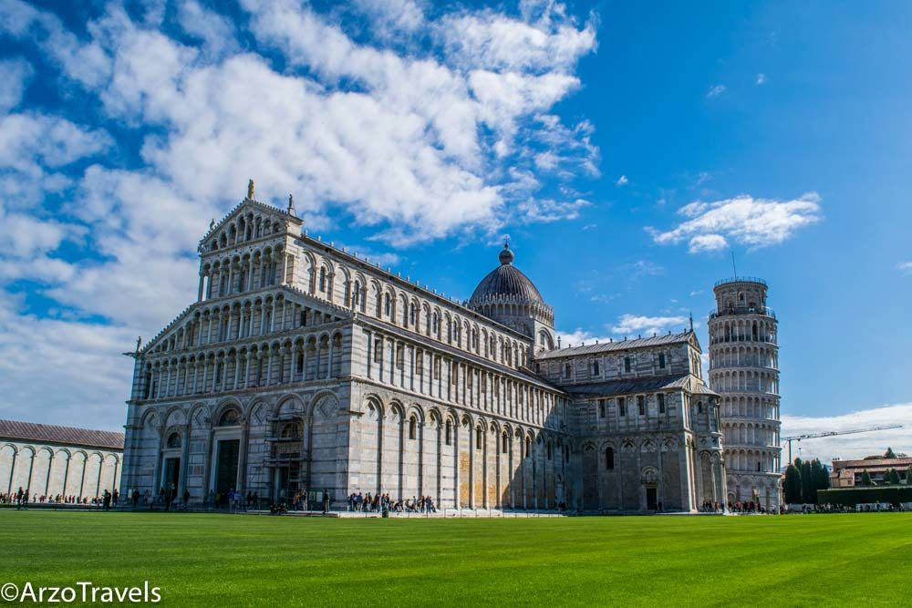 Piazza dei Miracoli , also known as Piazza del Duomo in Pisa, the main attraction