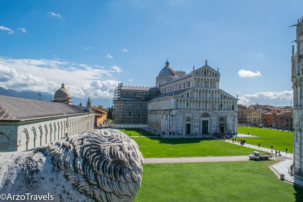 Picture from Pisa from the walls, an itinerary for Pisa