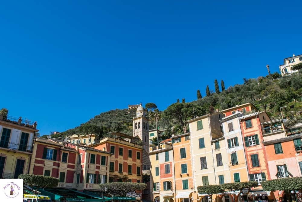 Portofino Sqaure with colorful houses