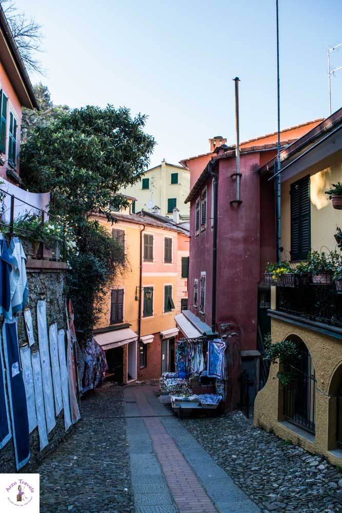 Portofino, colorful streets, strolling these streets is one top thing to do