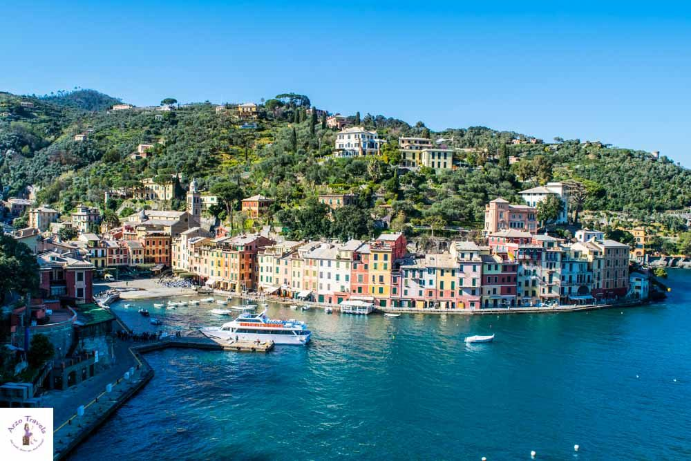 Portofino seen from above