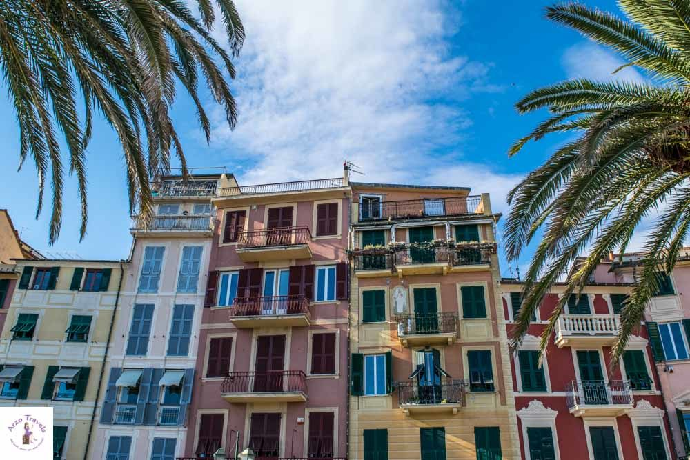 Santa Margherita in Liguria, colorful houses