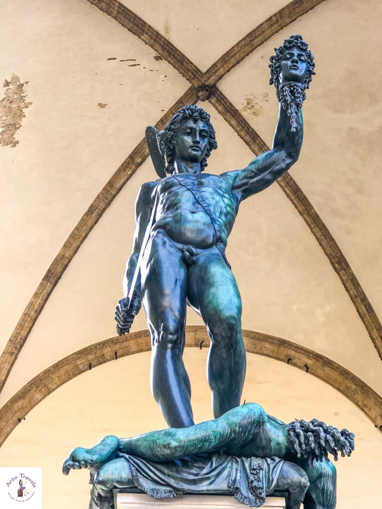 Statue in Florence_