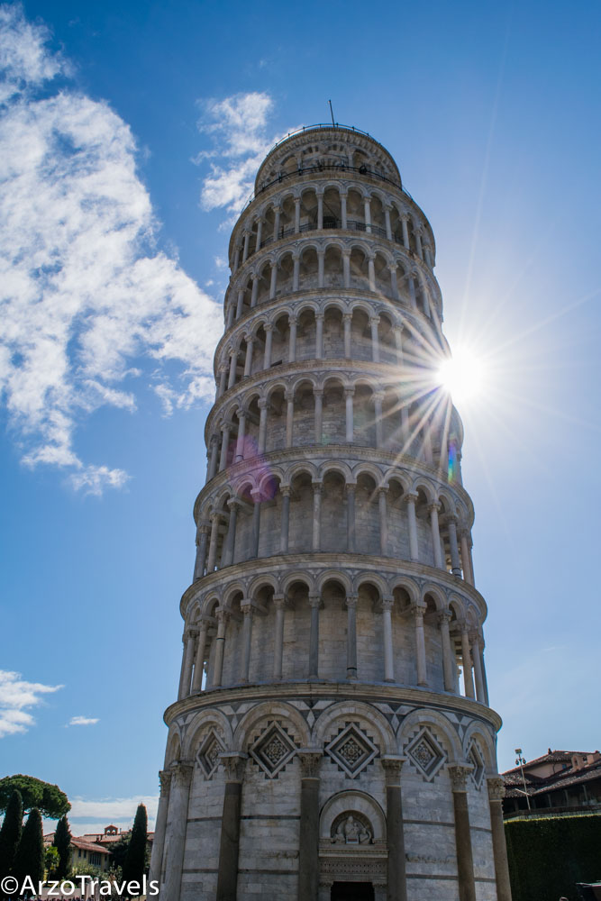 The Leaning Tower of Pisa, the best attraction in Pisa