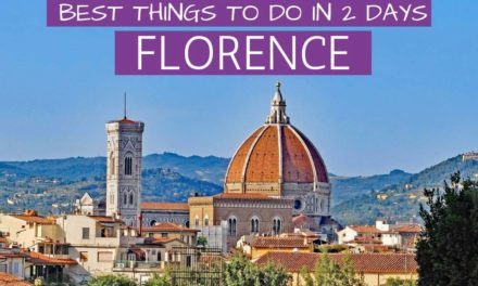 2-DAY FLORENCE ITINERARY