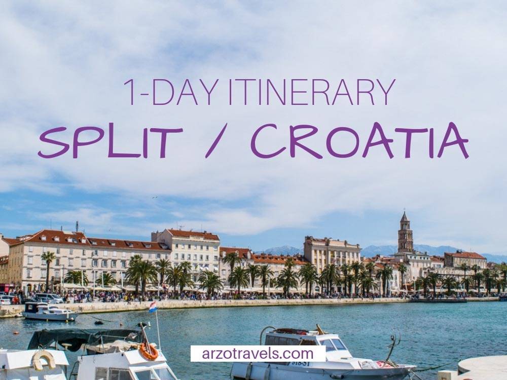 The best Split itinerary, here is how to spend one day in Split, Croatia