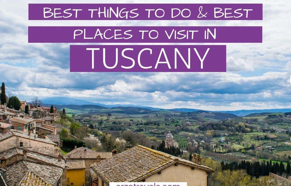 Best Tuscany Itinerary – 7 Days in Tuscany