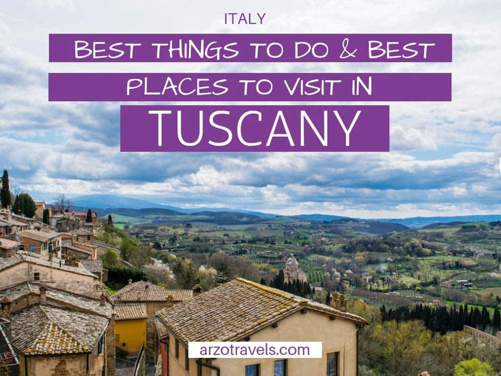 Tuscany, the most beautiful places and best towns and villages to visit in one week road trip, Italy