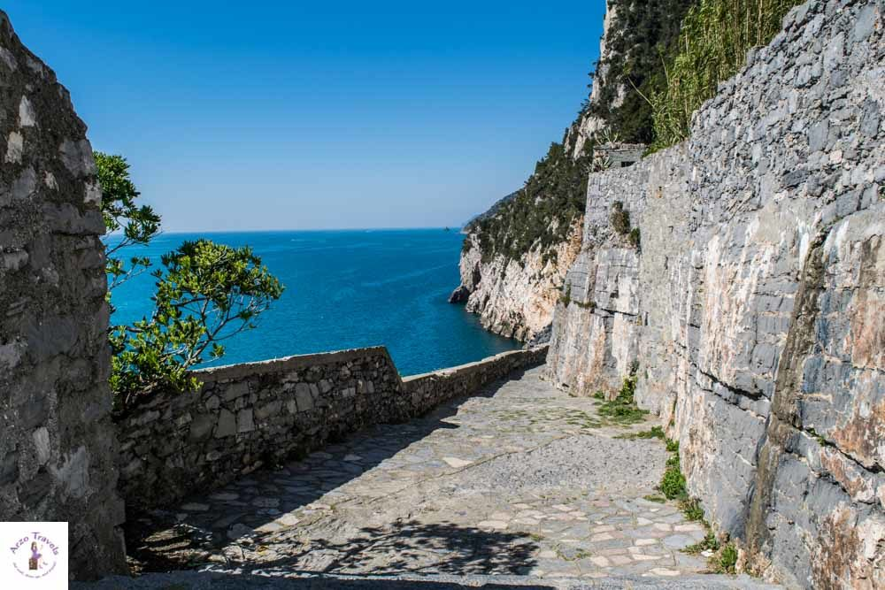 Walking along the coast in Porto Venere_