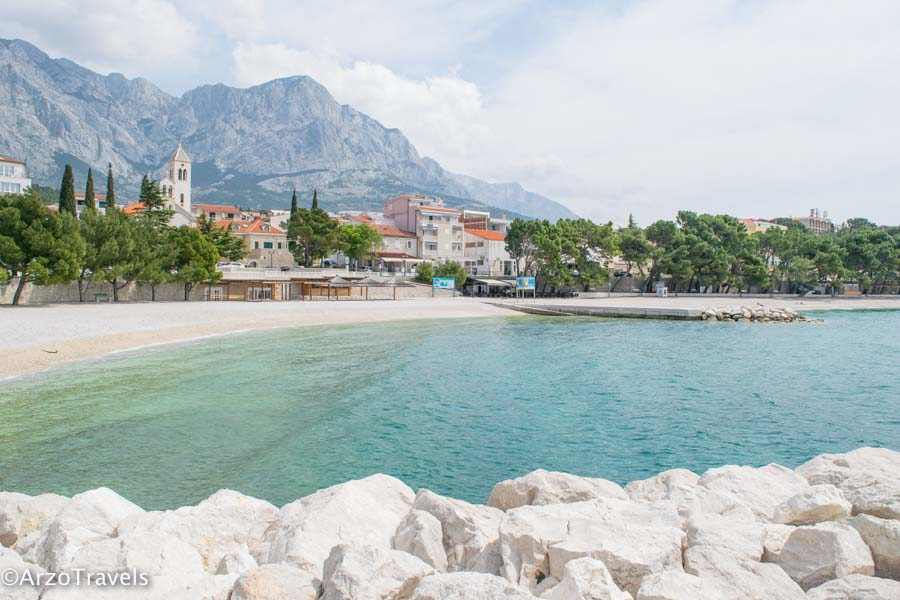 Baska Voda town in Croatia is a beautiful hidden place