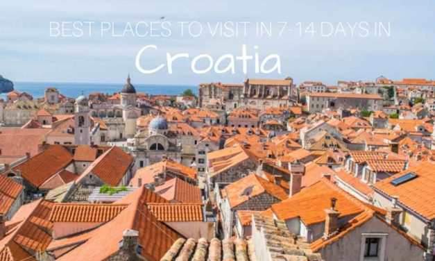 Best Croatia Itinerary – Most Beautiful Places to Visit in 7-14 Days in Croatia