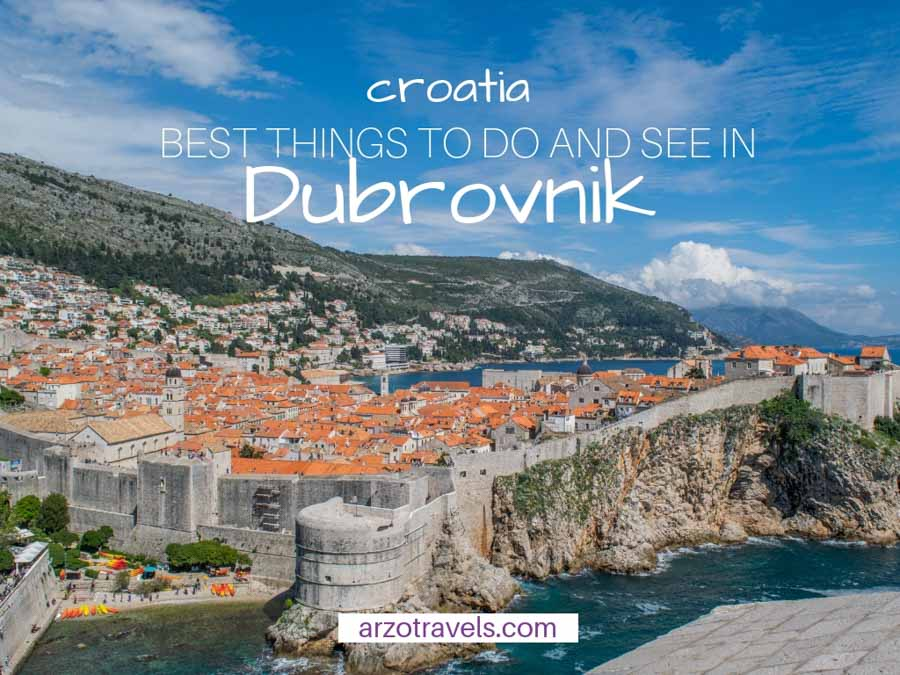 Best things to do and see in Dubrovnik, Croatia, The best itinerary and the best places to visit