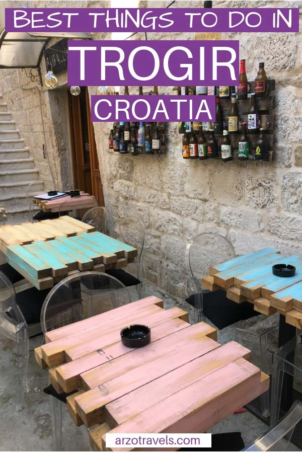 Best things to see and do in Trogir, one-day itinerary. Croatia
