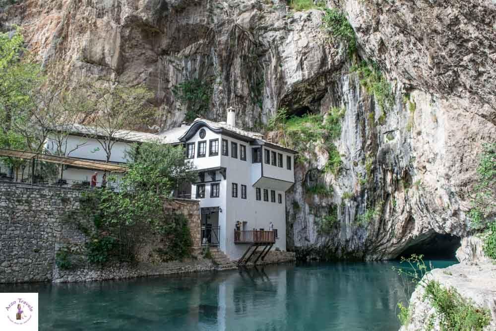 Blagaj monestary near Mostar