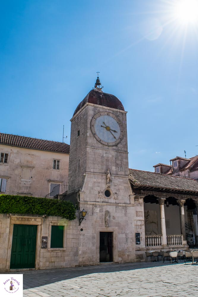 Clock Tower, Trogir is one of the main attraction
