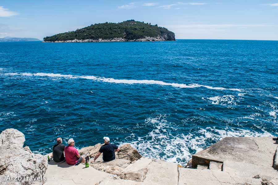 Dubrovnik Buza Bar is one the best places to see