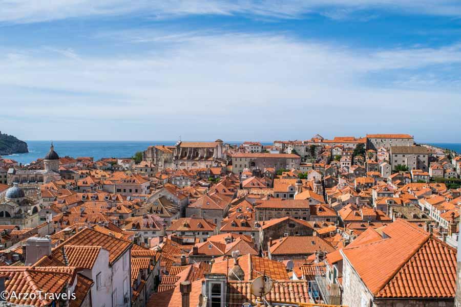 Dubrovnik city walls is the best activity
