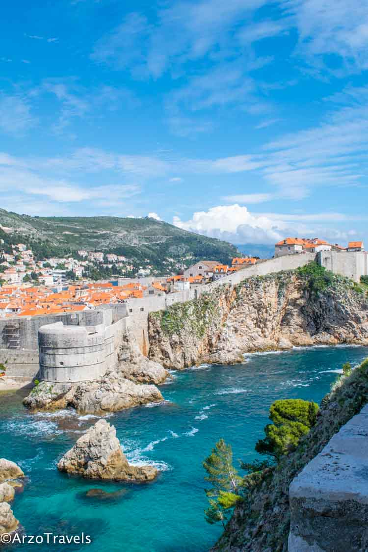 Dubrovnik view from Kings Landing