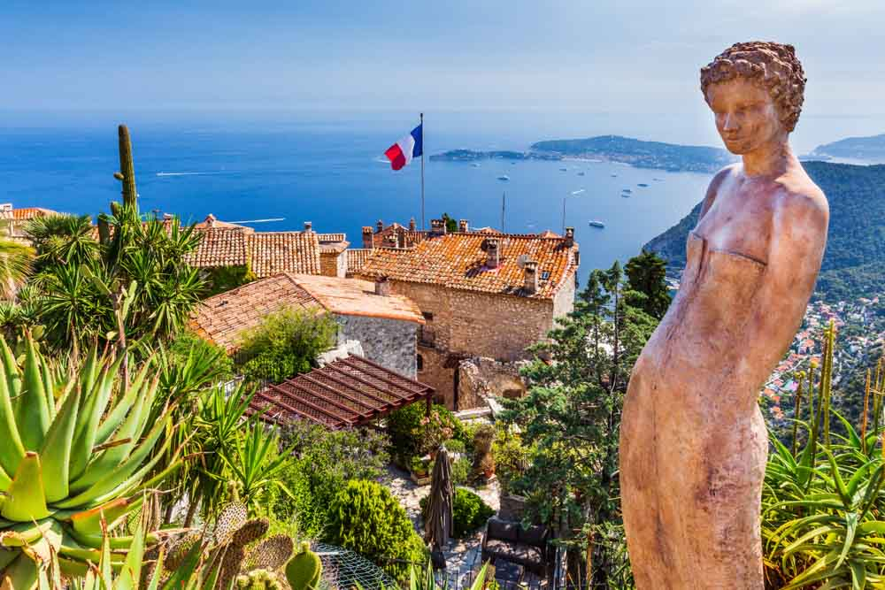 French Riviera. The Medieval Village of Eze